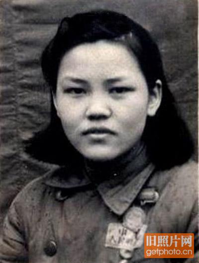 50年代,女兵发型高清图片